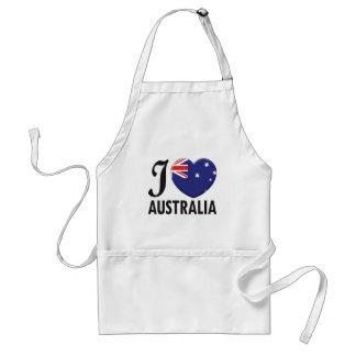 Australia Love Adult Apron
