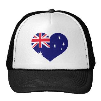 Australia Love Trucker Hat