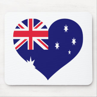 Australia Love Mouse Pad