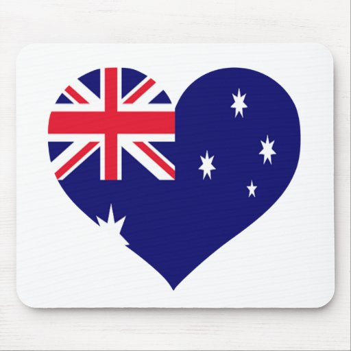 Australia Love Mouse Pad