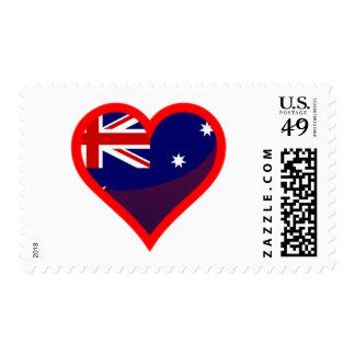 Australia love postage stamps