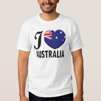 Australia Love Shirts
