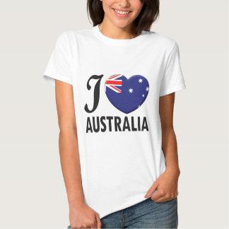 Australia Love T-shirts