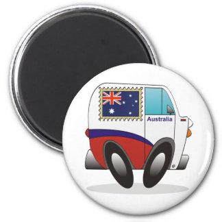Australia 2 Inch Round Magnet