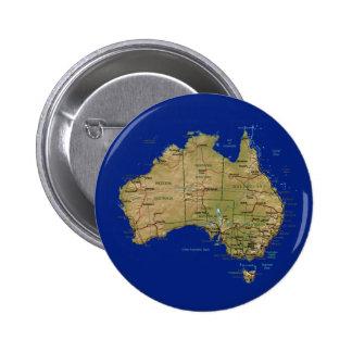Australia Map Button