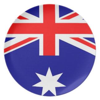 AUSTRALIA MELAMINE PLATE