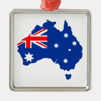 Australia Metal Ornament