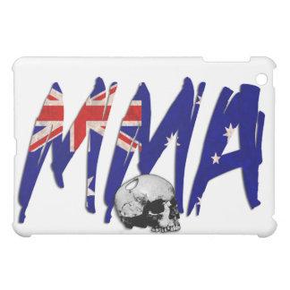 Australia MMA Skull White iPad Case