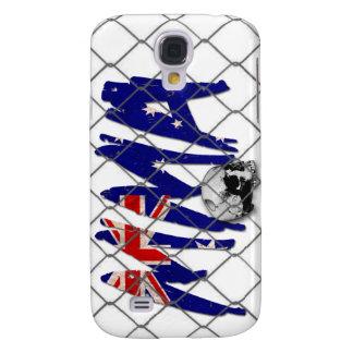 Australia MMA Skull White iPhone 3G/3GS Case