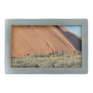 australia moutain rock rectangular belt buckle