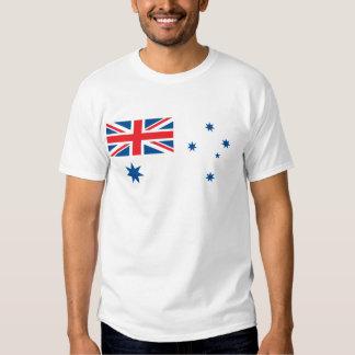 Australia Naval Ensign Tee Shirt