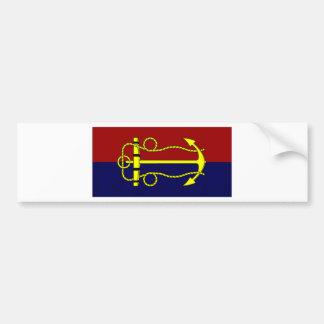 Australia Navy Board Flag Bumper Sticker