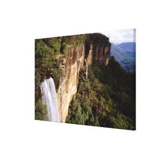 Australia, New South Wales, Fitzroy Falls. Gallery Wrap Canvas
