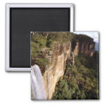 Australia, New South Wales, Fitzroy Falls. 2 Inch Square Magnet