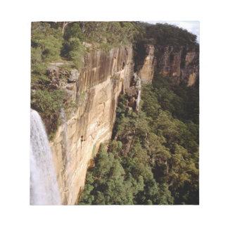 Australia, New South Wales, Fitzroy Falls. Notepad