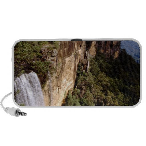 Australia, New South Wales, Fitzroy Falls. Notebook Speakers