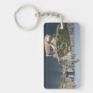 Australia, New South Wales, Sydney, Sydney 2 Rectangle Acrylic Keychain