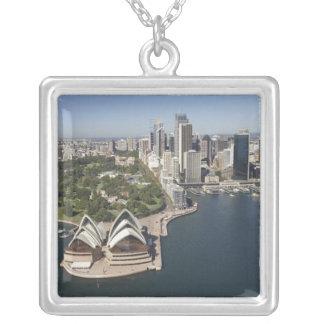 Australia, New South Wales, Sydney, Sydney 2 Square Pendant Necklace