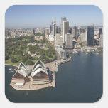 Australia, New South Wales, Sydney, Sydney 2 Square Sticker