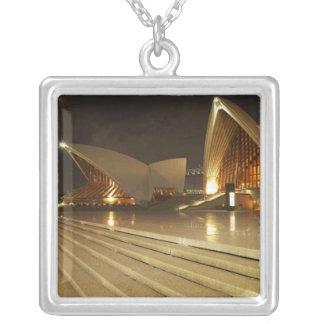 Australia, New South Wales, Sydney, Sydney Opera 2 Personalized Necklace