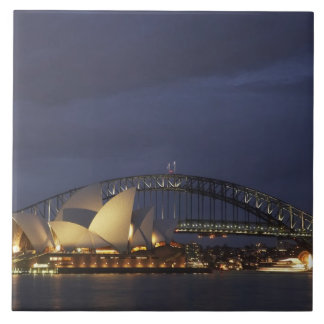 Australia, New South Wales, Sydney, Sydney Opera 3 Ceramic Tile