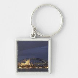 Australia, New South Wales, Sydney, Sydney Opera 3 Keychain