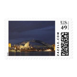 Australia, New South Wales, Sydney, Sydney Opera 3 Stamp