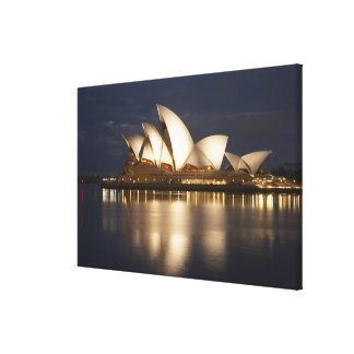 Australia, New South Wales, Sydney, Sydney Opera 4 Canvas Print