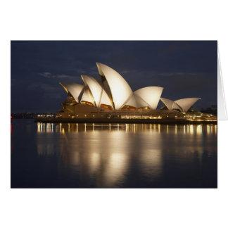 Australia, New South Wales, Sydney, Sydney Opera 4 Card