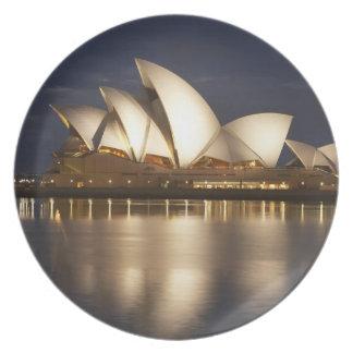 Australia, New South Wales, Sydney, Sydney Opera 4 Plate