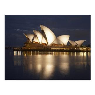 Australia, New South Wales, Sydney, Sydney Opera 4 Postcard