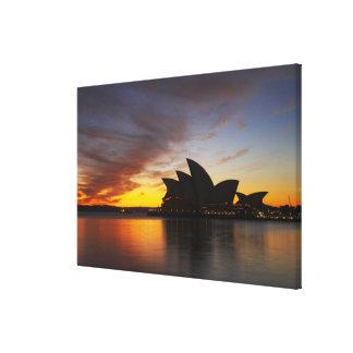 Australia, New South Wales, Sydney, Sydney Opera 5 Canvas Print