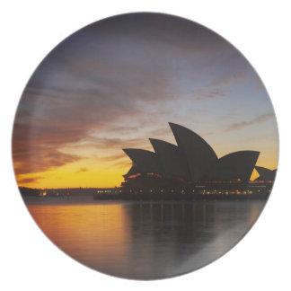 Australia, New South Wales, Sydney, Sydney Opera 5 Melamine Plate