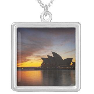 Australia, New South Wales, Sydney, Sydney Opera 5 Personalized Necklace