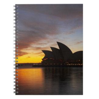 Australia, New South Wales, Sydney, Sydney Opera 5 Notebook
