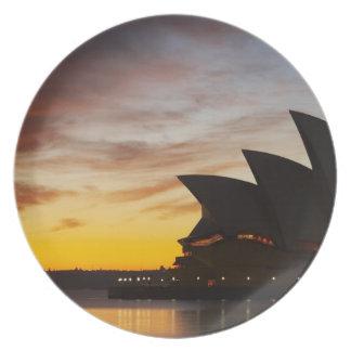 Australia, New South Wales, Sydney, Sydney Opera Dinner Plate