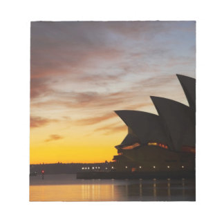 Australia, New South Wales, Sydney, Sydney Opera Notepad