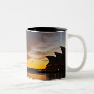 Australia, New South Wales, Sydney, Sydney Opera Two-Tone Coffee Mug