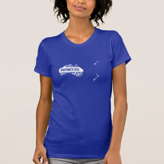 Australia, New Zealand & Fiji in Multiple Colors T-shirts