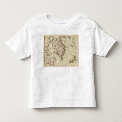 Australia, New Zealand Tee Shirt