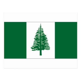 Australia Norfolk Island Flag Postcard