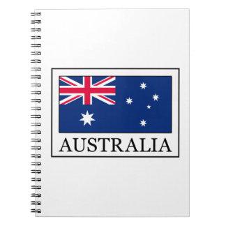 Australia Spiral Notebooks