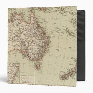 """Australia, Nueva Zelanda Carpeta 1 1/2"""""""