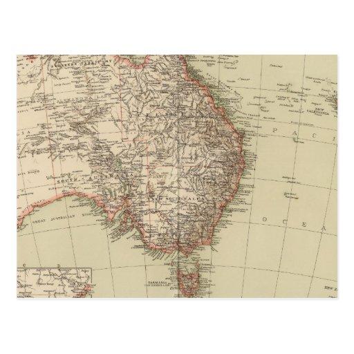Australia, Nueva Zelanda Postales