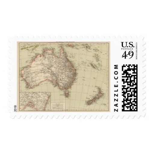 Australia, Nueva Zelanda Sellos