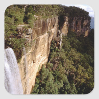 Australia, Nuevo Gales del Sur, caídas de Fitzroy Calcomanía Cuadradas