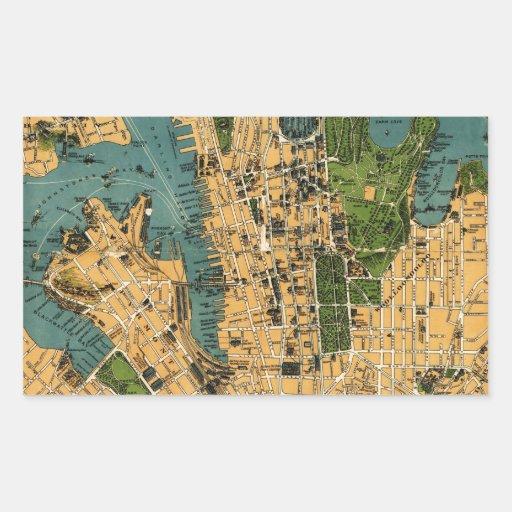 Australia--Nuevo Gales del Sur--Sydney. 1922..jpg Pegatina Rectangular