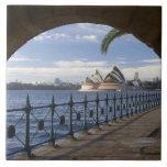 Australia, Nuevo Gales del Sur, Sydney, piedra Azulejo Cuadrado Grande