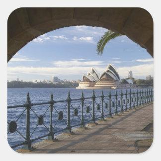 Australia, Nuevo Gales del Sur, Sydney, piedra Pegatina Cuadrada
