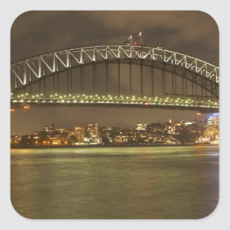 Australia, Nuevo Gales del Sur, Sydney, Sydney 2 Pegatina Cuadrada